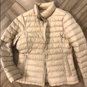 Calvin Klein Down Puffer Jacket Tan M